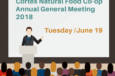 AGM Notice – Tuesday June 19th, 2018