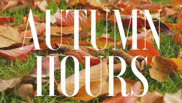 Store & Cafe Autumn Hours