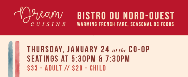 Dream Cuisine January 24th French Bistro