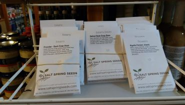 Salt Spring Seeds Now Available at the Co-op!