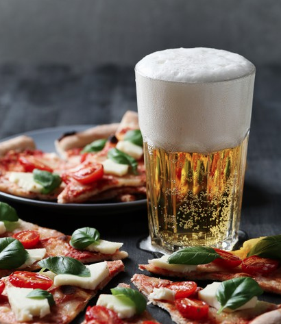 Pick-up Pizza Fridays now with BEER